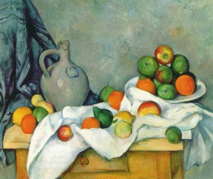 Jug-Curtain-and-Fruit-Bowl-Rideau-Cruchon-et-Compotier-by-Paul-Cezanne